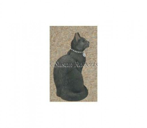 click here to view larger image of Black Cat - 18ct (hand painted canvases)