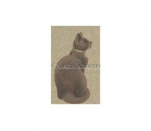 click here to view larger image of Brown Cat - 13ct (hand painted canvases)