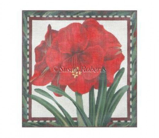 click here to view larger image of Amaryllis - 13ct (hand painted canvases)