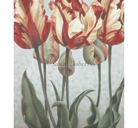 click here to view larger image of Asiatic Tulips - 18ct (hand painted canvases)