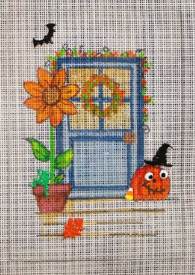 click here to view larger image of Autumn Door (hand painted canvases)