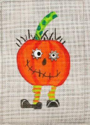 click here to view larger image of Crazy Pumpkin (hand painted canvases)