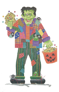 click here to view larger image of Patchwork Frankenstein Stitch Guide (books)