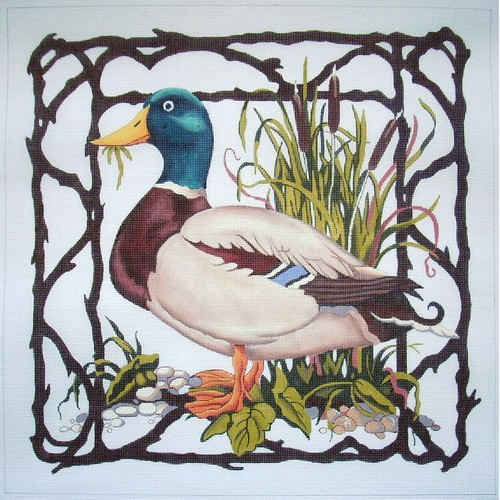 click here to view larger image of Mallard (hand painted canvases)
