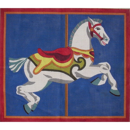 click here to view larger image of Carousel Pony (hand painted canvases)