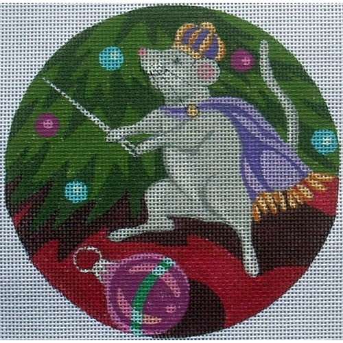 click here to view larger image of Mouse King Ornament (hand painted canvases)