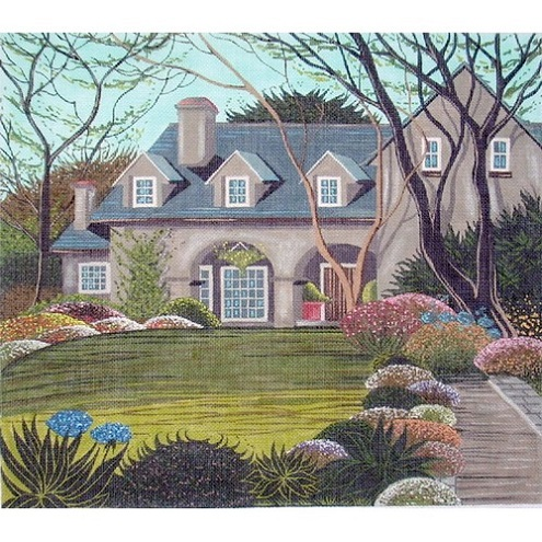 click here to view larger image of Sylvan Lodge (hand painted canvases)