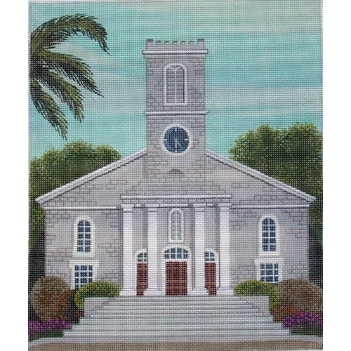 click here to view larger image of Kawaiahao Church Hawaii (hand painted canvases)