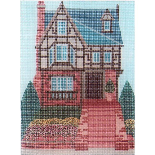 click here to view larger image of American Tudor (hand painted canvases)