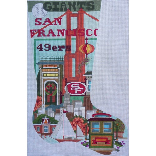 San Francisco Sports Stocking - click here for more details