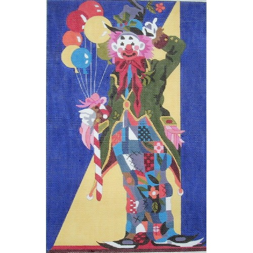 click here to view larger image of Clown (hand painted canvases)