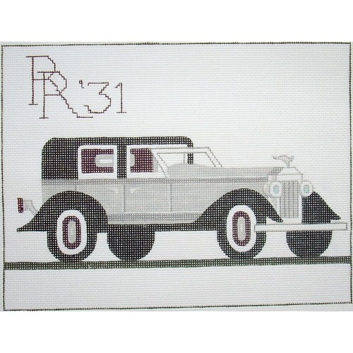 click here to view larger image of Rolls Royce 1931 (hand painted canvases)
