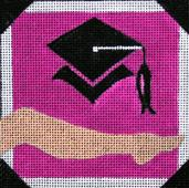 click here to view larger image of The Graduate - Movie Coaster (hand painted canvases)