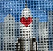 Sleepless In Seattle / An Affair To Remember - Movie Coaster hand painted canvases