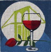 click here to view larger image of Moonstruck - Movie Coaster (hand painted canvases)