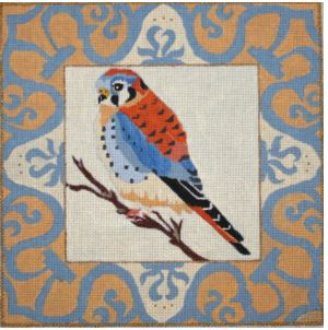click here to view larger image of American Kestrel (hand painted canvases)