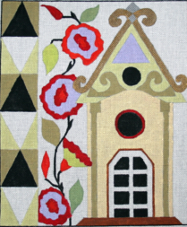 click here to view larger image of Birdhouse 2 (hand painted canvases)