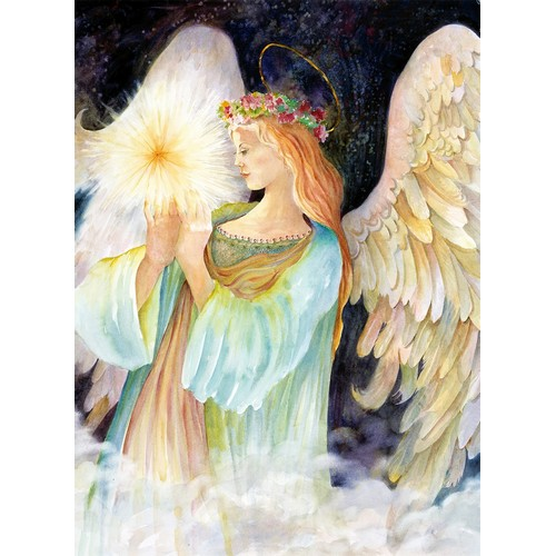 click here to view larger image of My Guardian Angel (hand painted canvases)