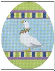 click here to view larger image of Goose Egg (hand painted canvases)