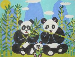 click here to view larger image of Panda Express (hand painted canvases)