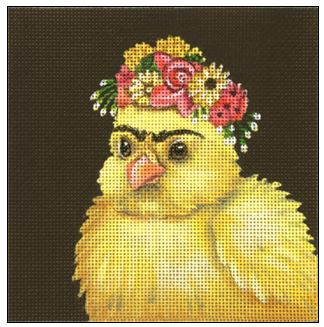 click here to view larger image of Frida Peep (hand painted canvases)