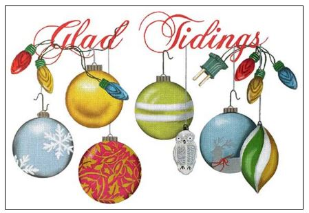 click here to view larger image of Glad Tidings (hand painted canvases)