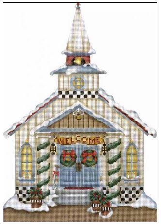 click here to view larger image of Church (hand painted canvases)