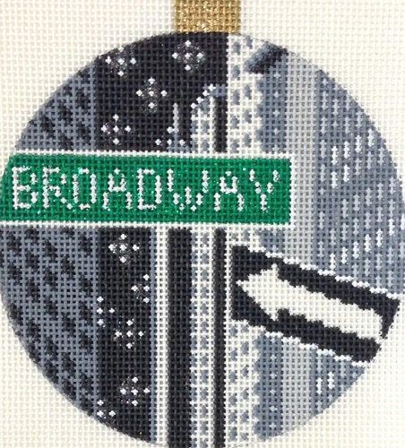 click here to view larger image of City Bauble - NYC Broadway (hand painted canvases)