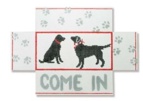 click here to view larger image of Black Lab (hand painted canvases)