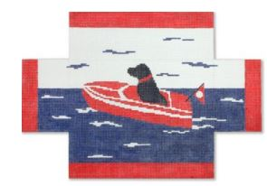 click here to view larger image of Sea Dog (hand painted canvases)