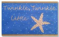 click here to view larger image of Twinkle Twinkle (hand painted canvases)