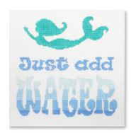 click here to view larger image of Just Add Water (hand painted canvases)