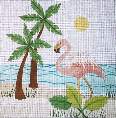 click here to view larger image of Beach Bird (hand painted canvases)