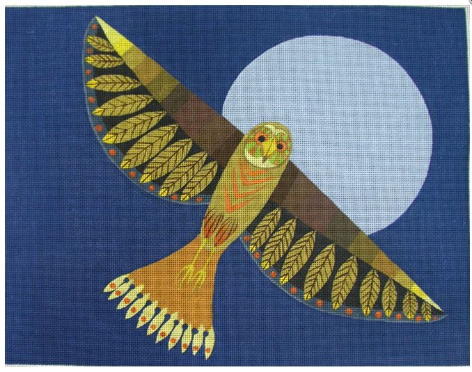 click here to view larger image of Night Flight (hand painted canvases)