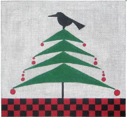 click here to view larger image of Fir Tree - 18ct (hand painted canvases)