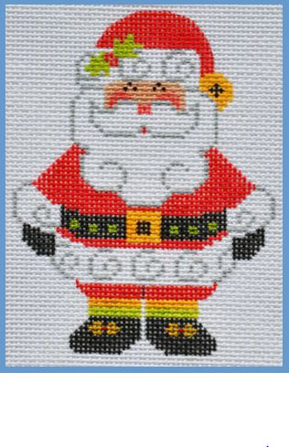 click here to view larger image of Santa Claus (hand painted canvases)