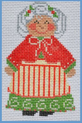 click here to view larger image of Mrs Claus (hand painted canvases)