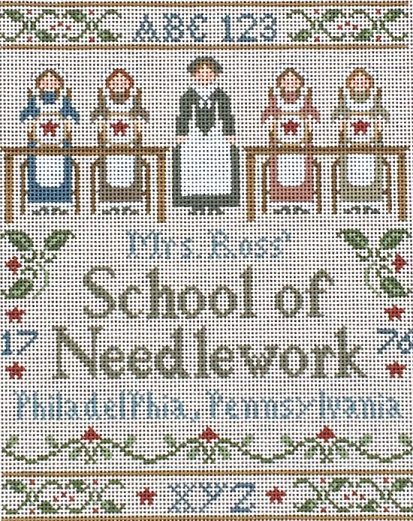 click here to view larger image of Needlework School (hand painted canvases)