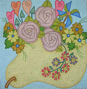 click here to view larger image of Christine (hand painted canvases)
