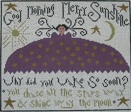 click here to view larger image of Merry Sunshine (hand painted canvases)