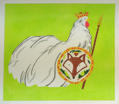 click here to view larger image of King Fox Catcher (hand painted canvases)