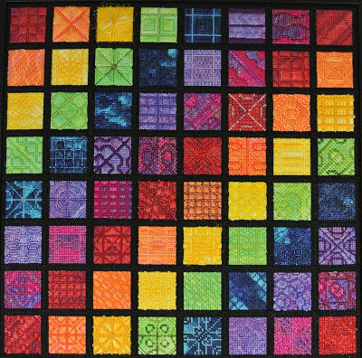click here to view larger image of Cymatics Sampler (hand painted canvases)