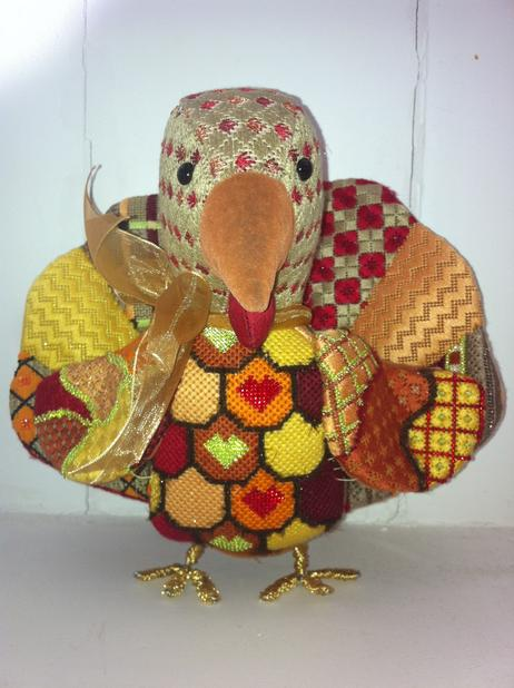 click here to view larger image of Tallulah Turkey (hand painted canvases)