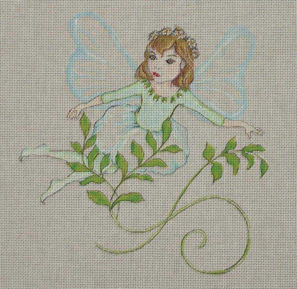 click here to view larger image of Winter Fairy (hand painted canvases)