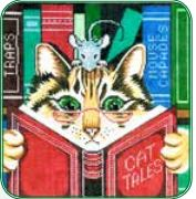 click here to view larger image of Cat Tales (hand painted canvases)