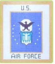 click here to view larger image of Air Force (hand painted canvases)