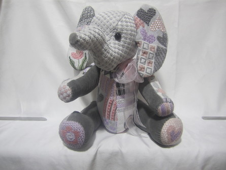 click here to view larger image of Ellie Elephant (hand painted canvases)