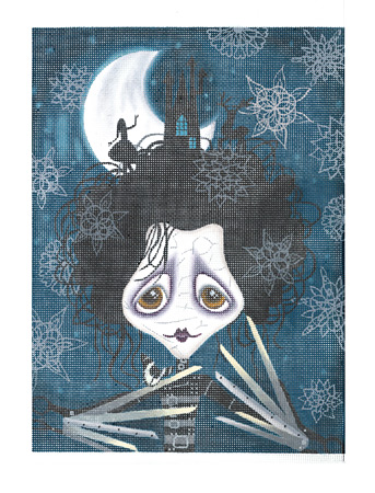 click here to view larger image of Edward Scissorhands (hand painted canvases)