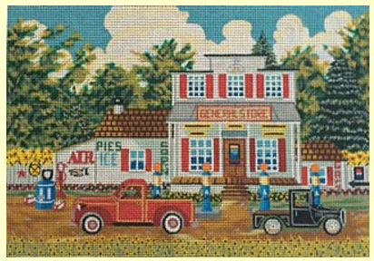 click here to view larger image of General Store (hand painted canvases)