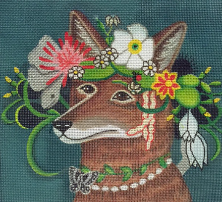 click here to view larger image of Coyote In The Afternoon Stitch Guide (books)